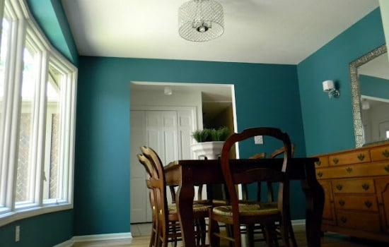 North Blue Paint Color