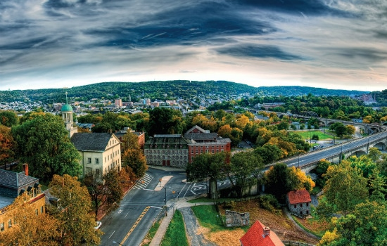 Retiring in Bethlehem, Pennsylvania