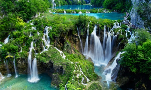 The Waterfalls of Plitvice Lakes National Park