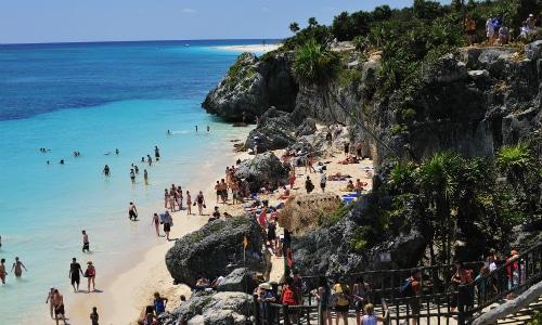 Tulum Beach Tulum Mexico