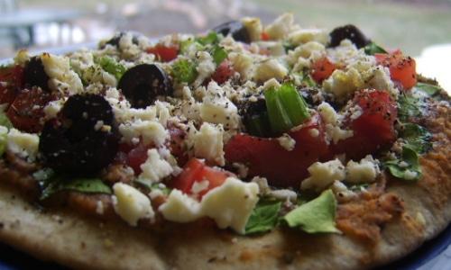Pita Pizza Lunch