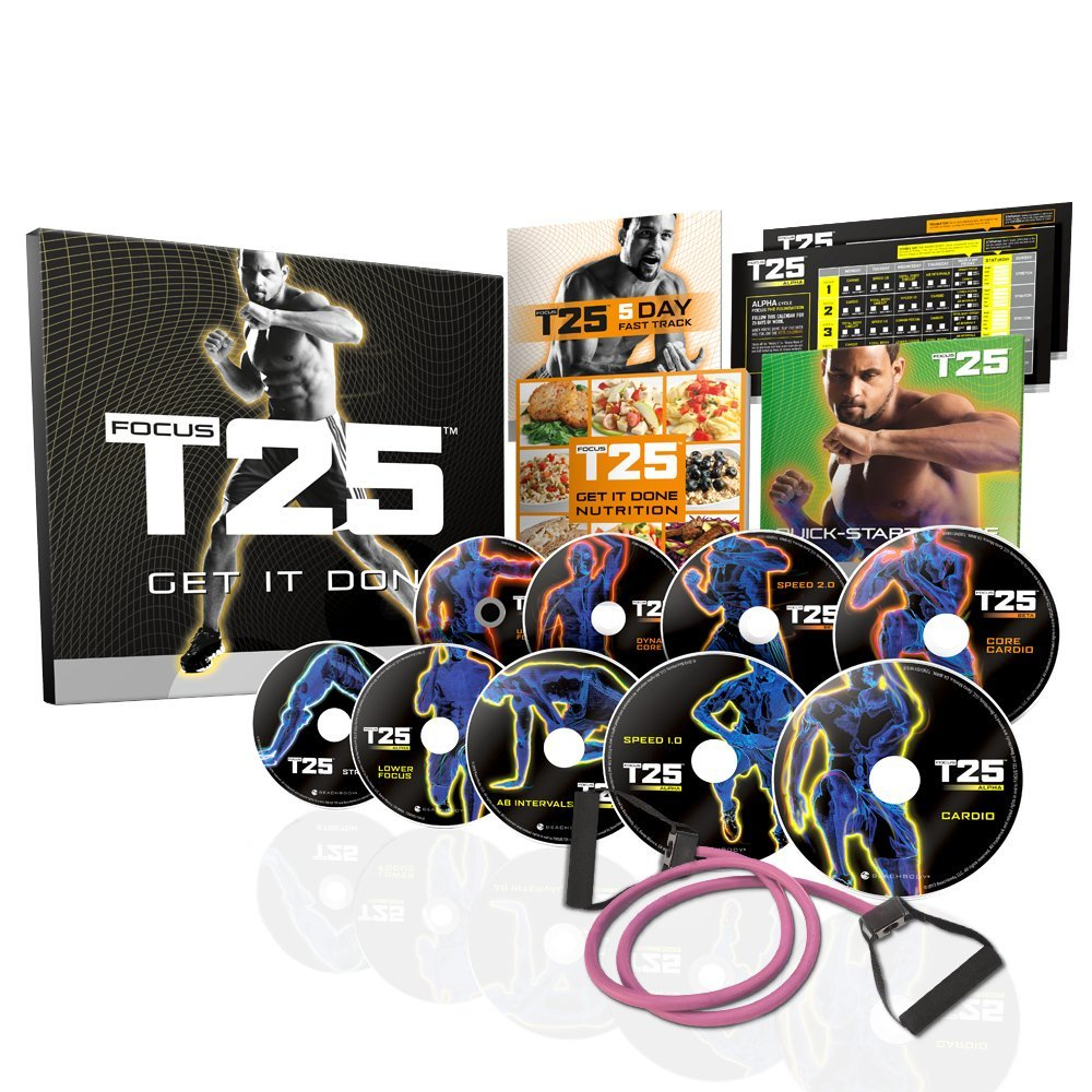 Shaun T's FOCUS T25 Workout Videos
