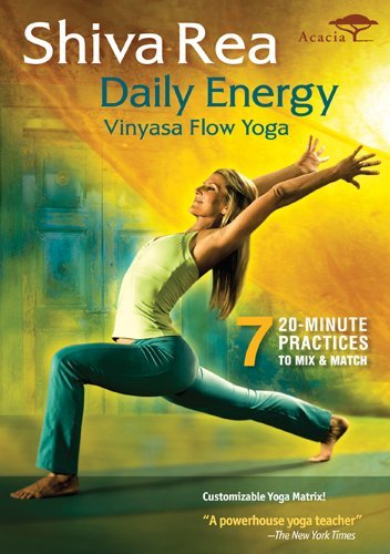 Shiva Rea Daily Energy Workout Videos (Vinyasa Flow Yoga)