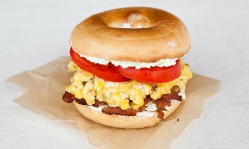 Bagel Breakfast Sandwich Lunch