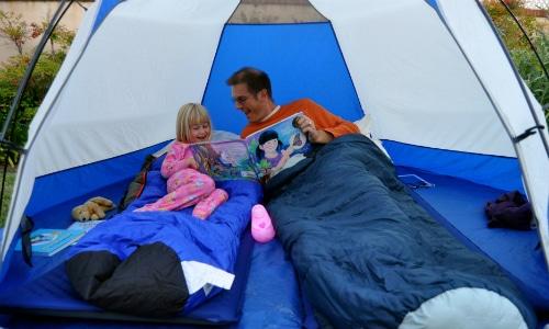 Camp in the Backyard