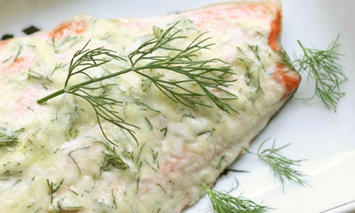 Creamy Dill and Garlic Salmon