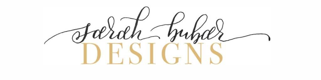 Sarah Bubar Designs Wedding Website