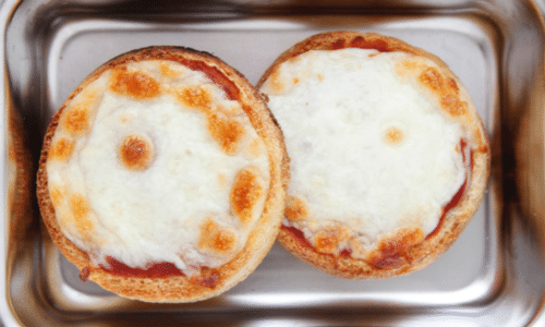 English Muffin Pizza Weelicious