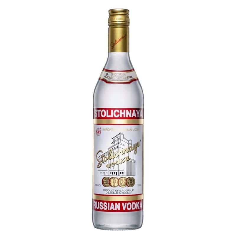 Stolichnaya Vodka Brand