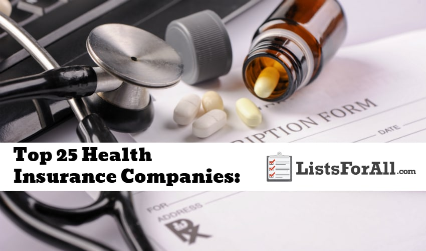 List of the Best Health Insurance Companies
