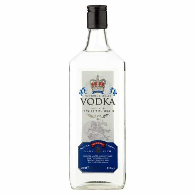 Morrisons Five Times Distilled Vodka