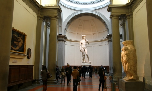 Accademia Gallery Florence Italy