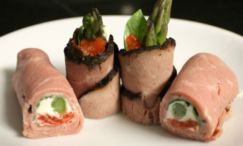 Deli Meat Roll Up