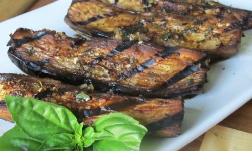 Grilled Balsamic Eggplant