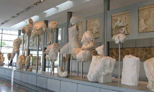 The Acropolis Museum Athens Greece