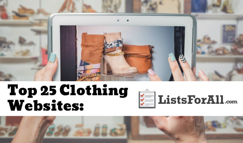 Best Clothing Websites