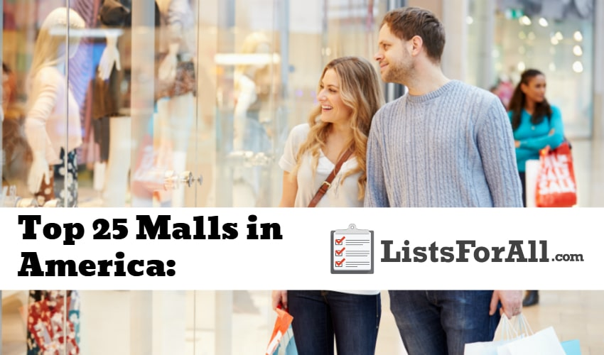 List of the Best Malls in America