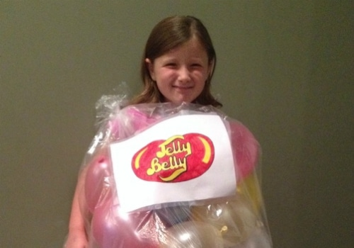 bag of jellybeans halloween outfit