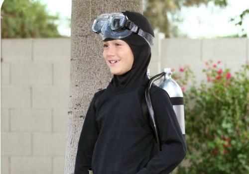 HomemadeScuba Diver Outfit
