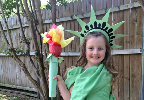 HomemadeStatue of Liberty Outfit