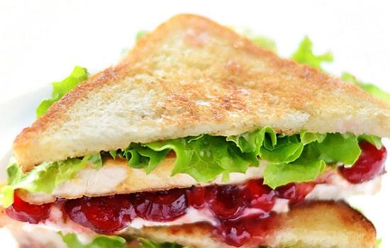 Cranberry Cream Cheese Turkey Sandwich Recipe