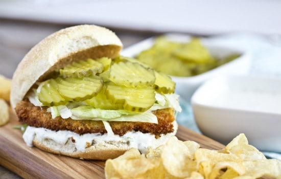 Crispy Dill Chicken Sandwich Recipe