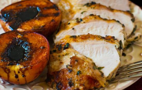 Grilled Basil Garlic Chicken Breast Recipe