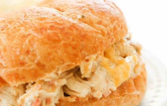 Slow Cooker Chicken Bacon Ranch Sandwich Recipe