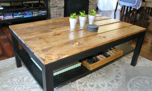 Coffee Table IKEA Hack