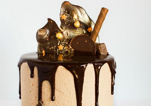 Drippy Ganache Cake