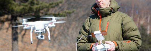 Flying Drone Edited