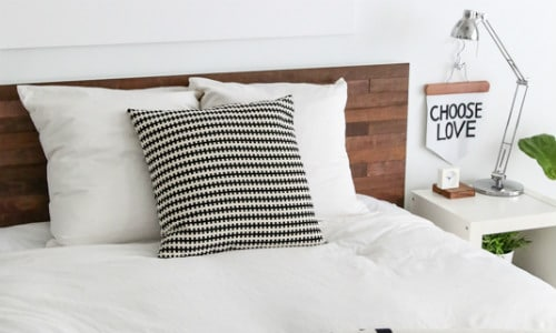 Stikwood Headboard IKEA Hack
