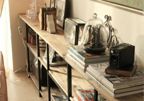 Industrial Shelving IKEA Hack