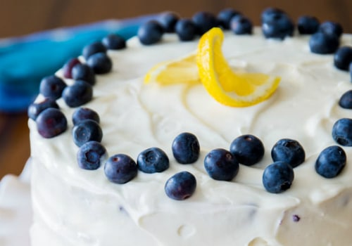 Lemon Blueberry Layer Cake Recipe