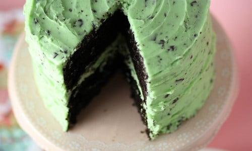 Mint Chocolate Chip Cake Recipe