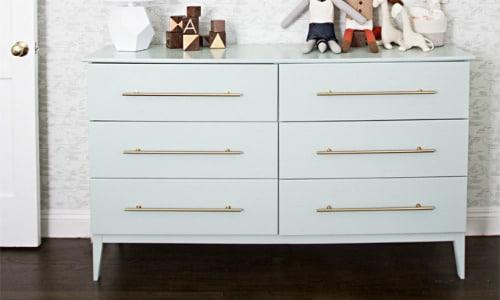 Nursery Dresser IKEA Hack