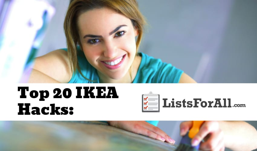 List of the Best IKEA Hacks