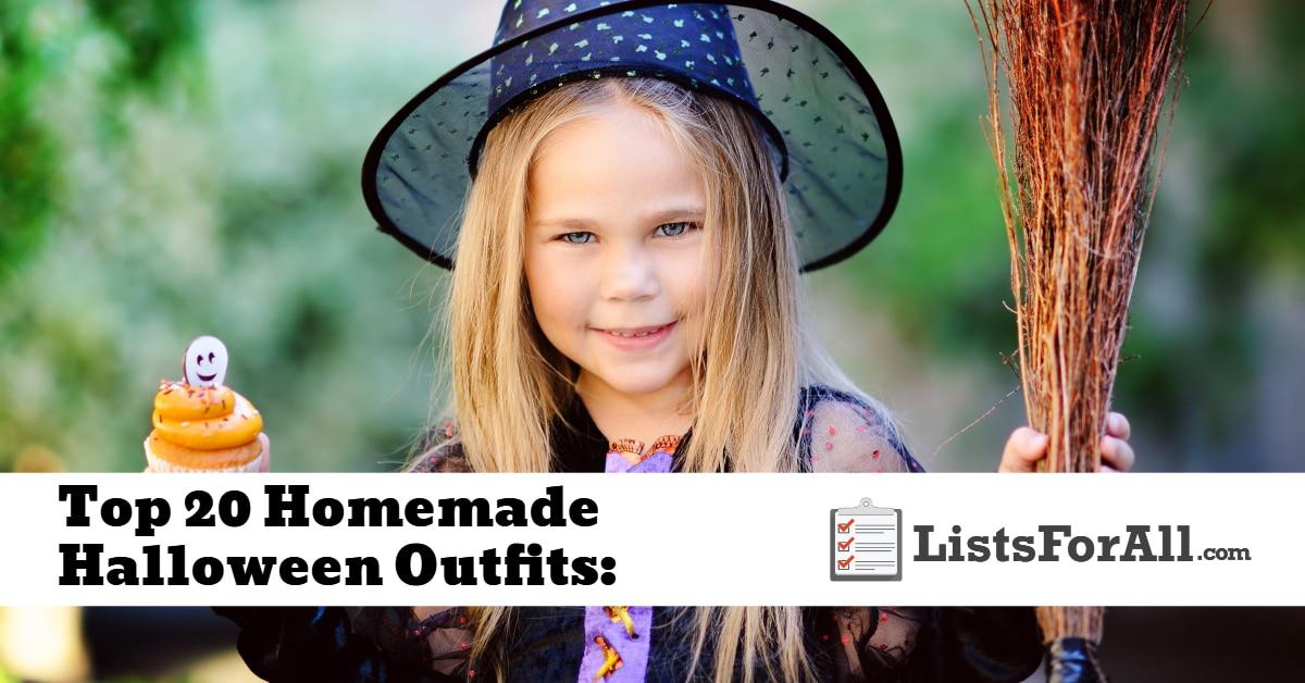 3adfb0e4d7829 Best Homemade Halloween Outfits  The Top 20 List - ListsForAll.com