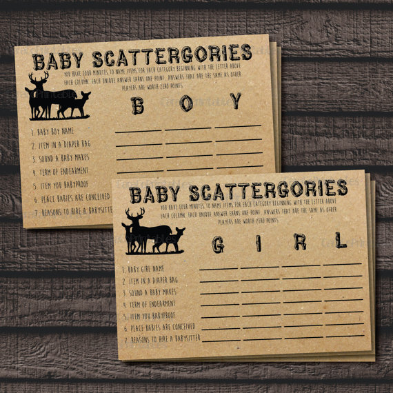 Baby ScattergoriesGame