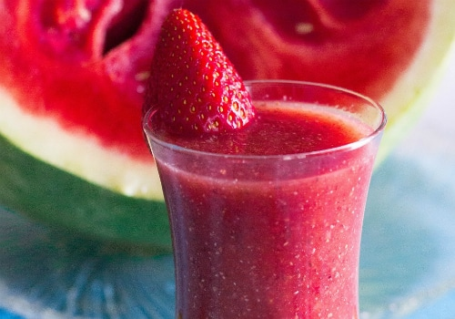 Strawberry Watermelon Smoothie Recipe