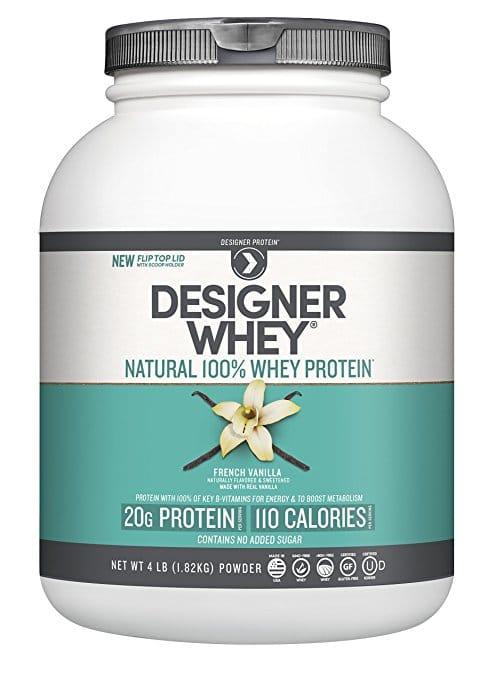 Designer Whey Protein Powder