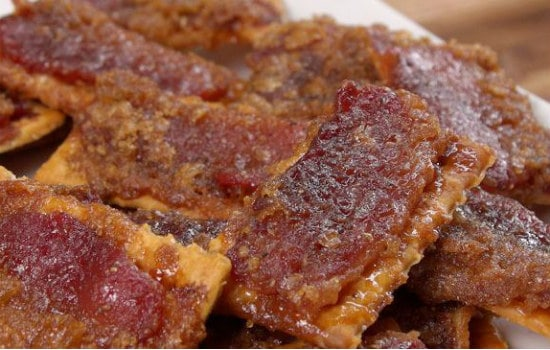 Bacon Crackers Appetizer