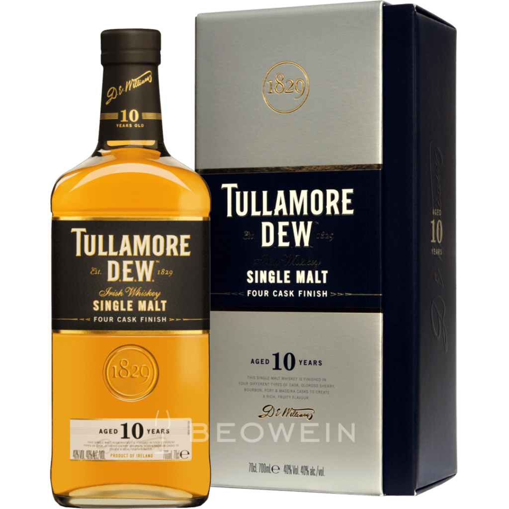 Tullamore Dew Single Malt Irish Whiskey