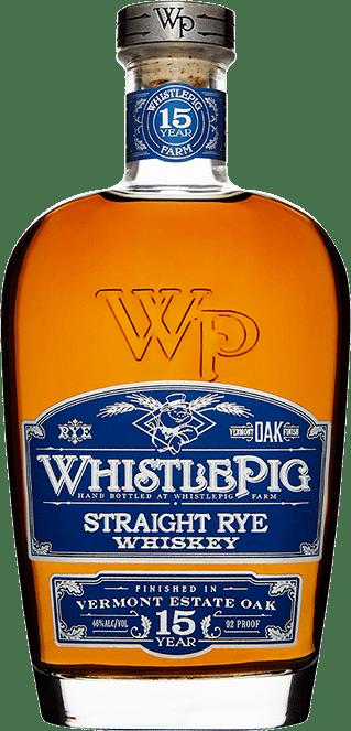 WhistlePig 15 yr Straight Rye Whiskey