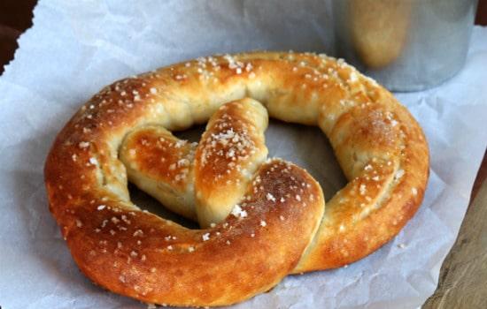 Auntie Anne's Style Gluten Free Soft Pretzels Recipe