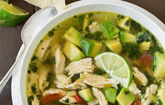 Chicken Avocado Lime Soup Recipe