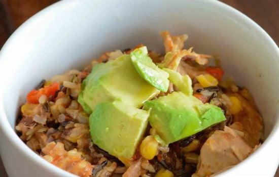 Gluten Chicken Burrito Bowl Recipe
