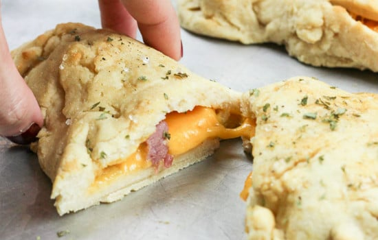 Gluten Free Ham and Cheese Hot Pockets Recipe