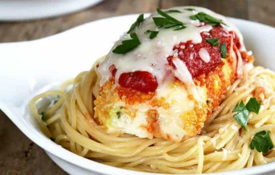 Gluten Free Zucchini Chicken Parmesan Bundles Recipe