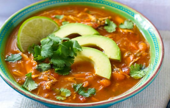 Paleo Chicken Tortilla Soup Recipe